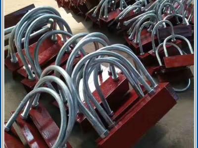 固定管卡 德昂齐全化工管卡 国标化工A2型的管卡 国标化工A2型的管卡