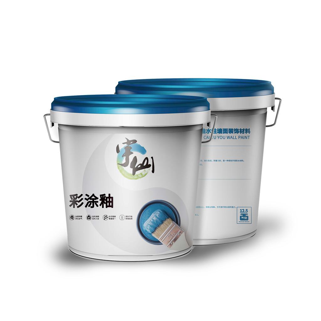 宇仙YUXIAN 环保无机水性漆涂料 乳胶漆、内墙漆、无机涂料、彩涂釉