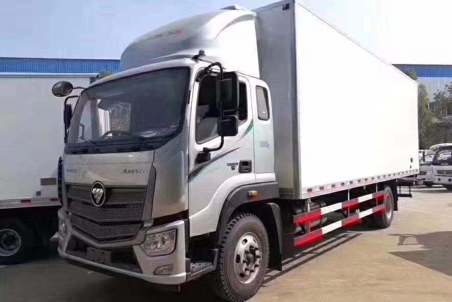 福田欧马可S5型7.6米冷藏车图片