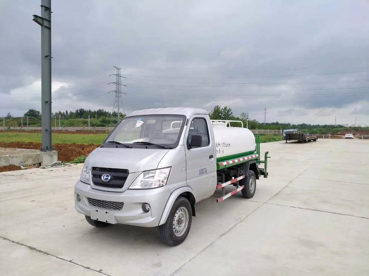 北汽昌河自装卸式挂桶垃圾车图片