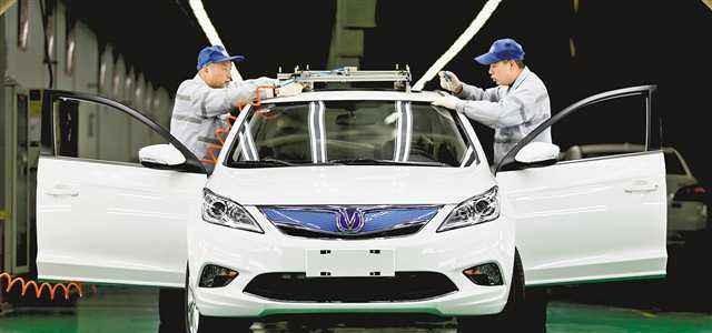 长安助力合肥成为全国新能源汽车生产领跑者