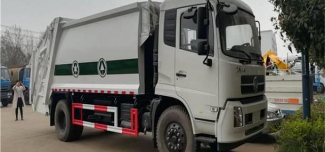 東風天錦 壓縮垃圾車高檔配置及使用_河南宇通壓縮式垃圾車