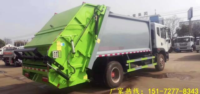 【东风压缩垃圾车垃圾运输车环卫车厂家】_12方后装压缩式垃圾车