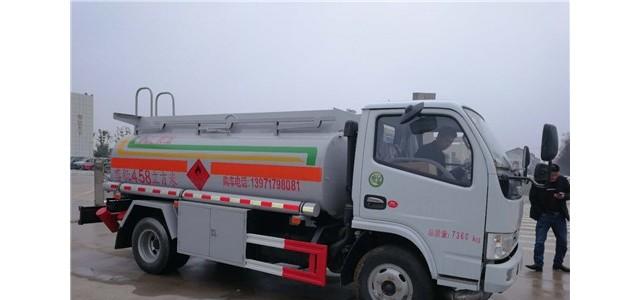 黑龍江黑河東風5噸加油車銷售電話_深圳二手加油車