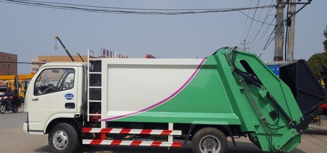 5方壓縮垃圾車價格_5方壓縮垃圾車價格多少錢 5方壓縮垃圾車價格報價_eq1160壓縮式垃圾車