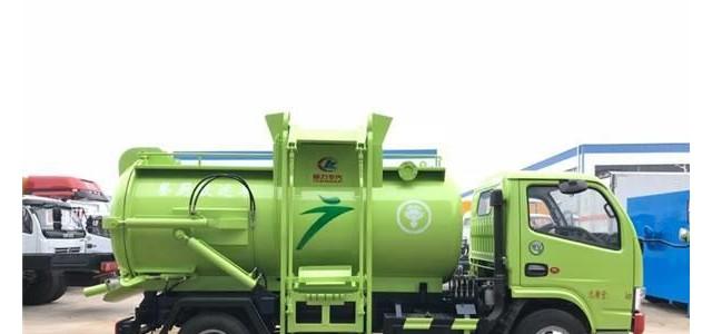 餐廚垃圾車的特點_餐廚垃圾車運用