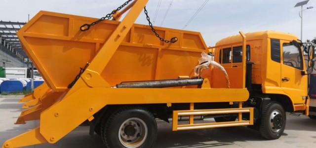 垃圾壓縮車圖片 8噸壓縮垃圾車_勾臂式壓縮垃圾車銷售