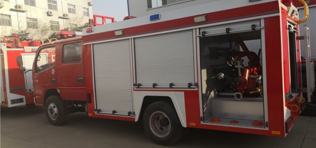 【五十铃3吨乡镇消防车厂家5吨森林消防车】_个人买救援车