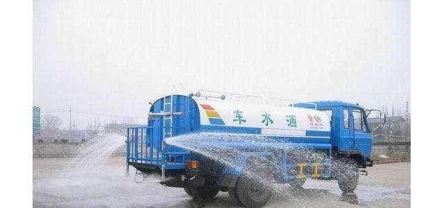 永川12吨洒水车生产厂家-选金亿利环卫_san三明洒水车