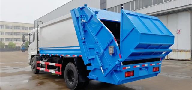 南充压缩式对接垃圾车门市价-行业资讯_东风天锦对接式垃圾车报价