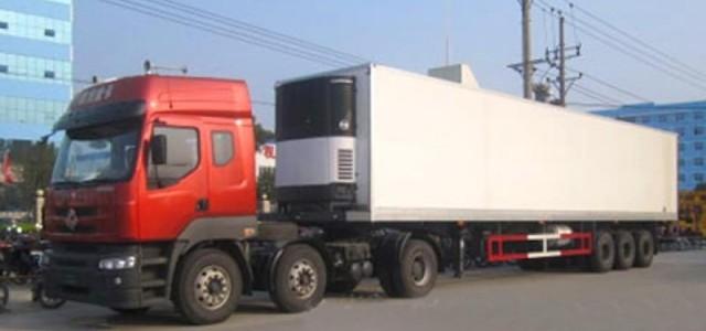 上海到图木舒克整车冷链运输/冷藏货运专注急件_冷藏车日产发动机