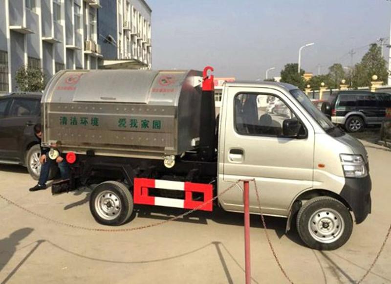 内蒙古巴彦淖尔垃圾车国几的能上牌照图文