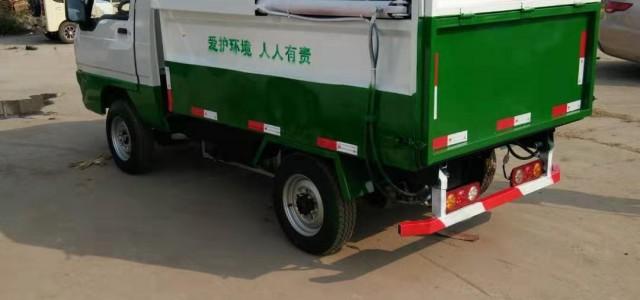 桐梓电动三轮挂桶垃圾车产品型号齐全 - 桐梓汽摩及配件_山东六轮挂桶式垃圾车