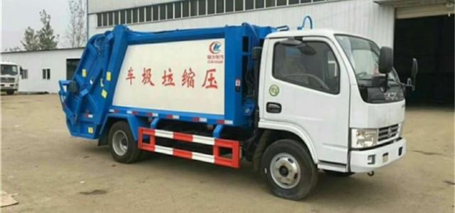 禹州小型餐厅垃圾运输车哪有卖的_餐厨垃圾车多少吨