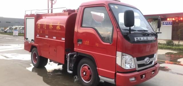 仁化森林消防洒水车多少钱_个人买救援车