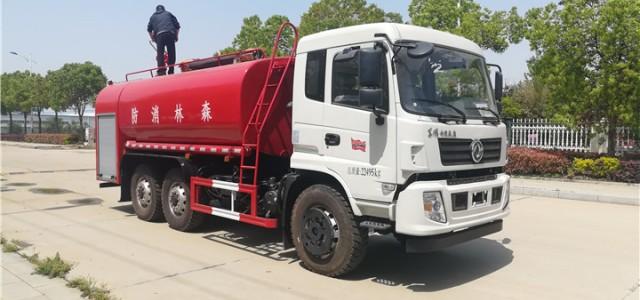 东风六驱12吨洒水车