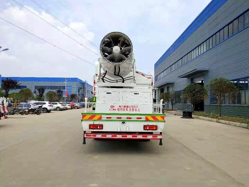 国六东风专底12方多功能抑尘车实拍图片