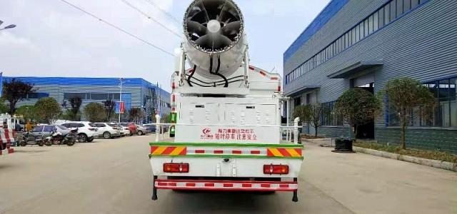 國六東風專底12方多功能抑塵車