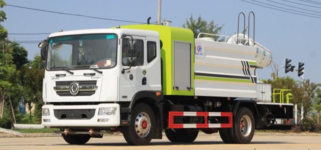 国六东风多利卡12吨多功能抑尘车厂家报价