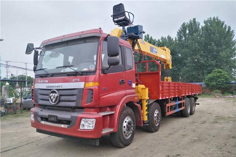 福田石煤16吨随车吊图片