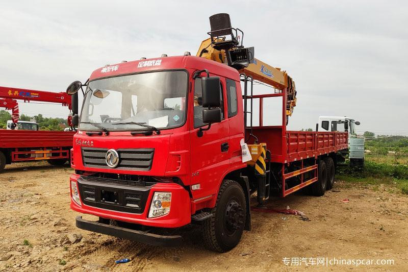 东风专用底盘徐工12吨随车吊图片