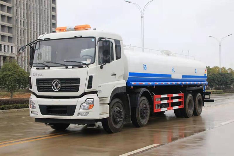 国六东风天龙25吨洒水车图片