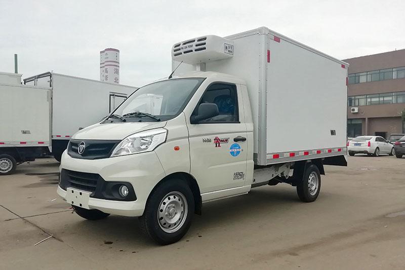 國六小型冷藏車_福田祥菱V1國六冷藏車圖片