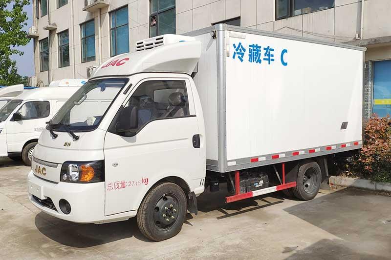 江淮康鈴X冷藏車(后雙輪)圖片