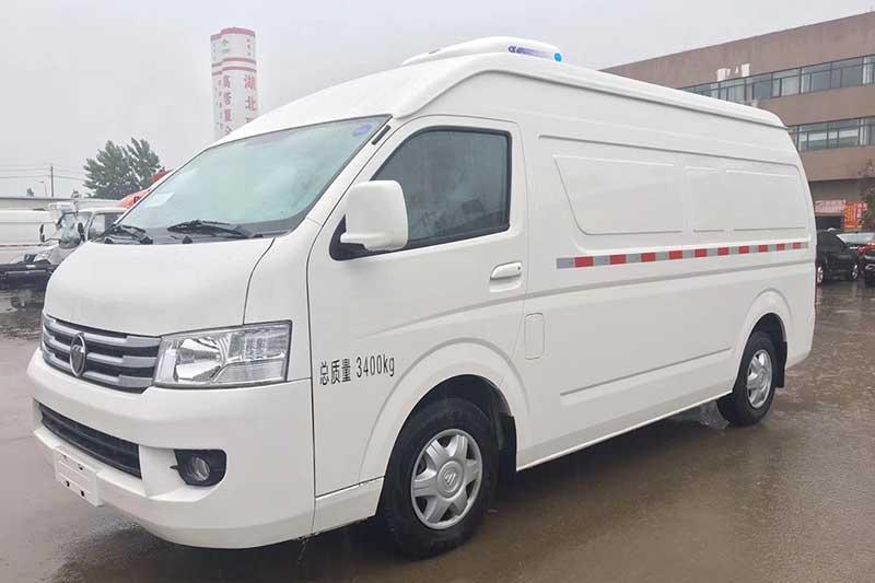 福田G9面包冷藏車圖片