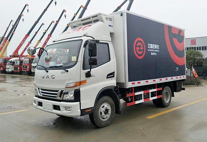 江淮駿鈴V6藍牌冷藏車圖片