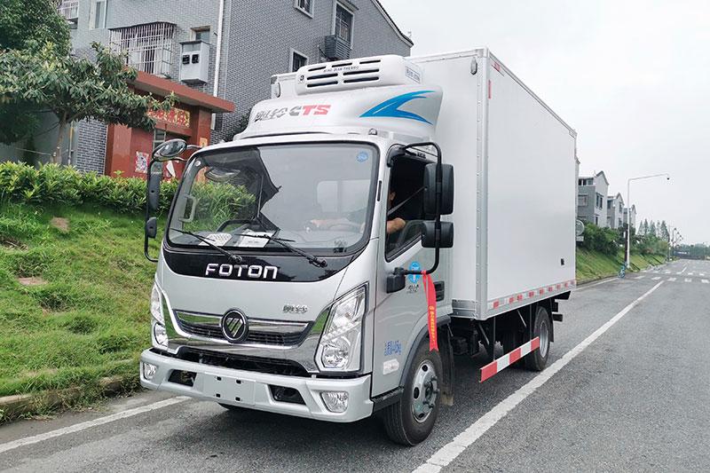 福田奧鈴冷藏車圖片
