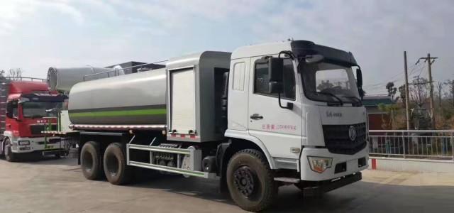 东风国六16吨60米多功能抑尘车