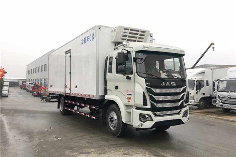 江淮格尔发K5单桥冷藏车 中型冷藏车 第5张
