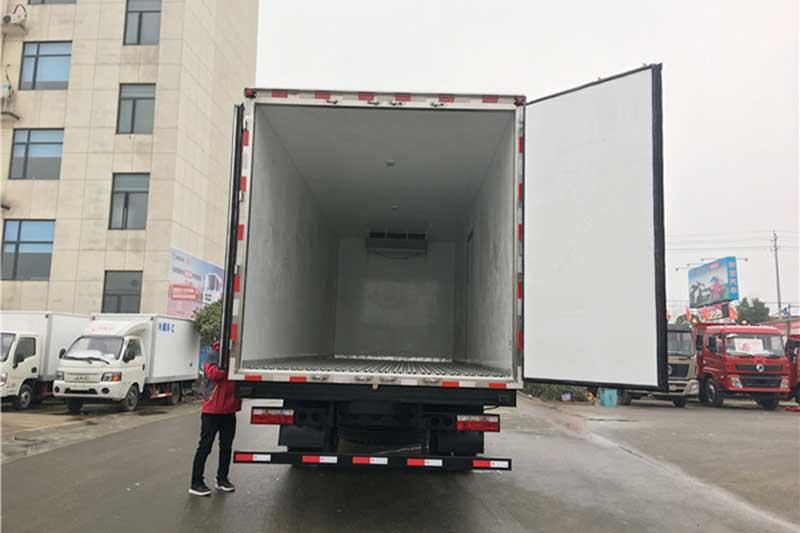 江淮格尔发K5单桥冷藏车 中型冷藏车 第4张