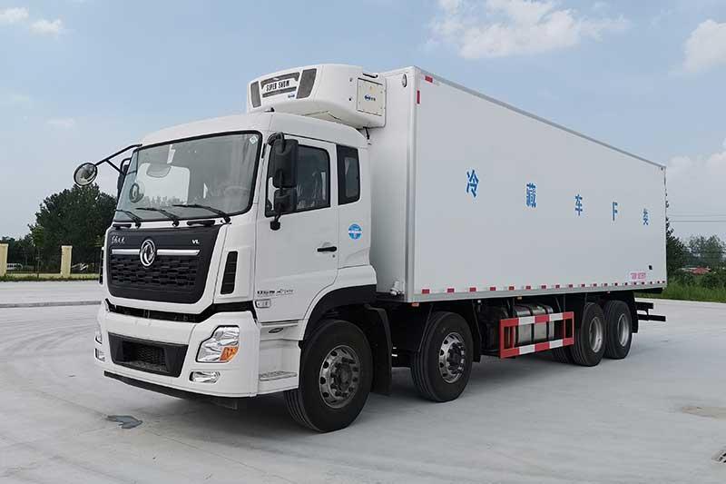 东风天龙9.4米冷藏车图片
