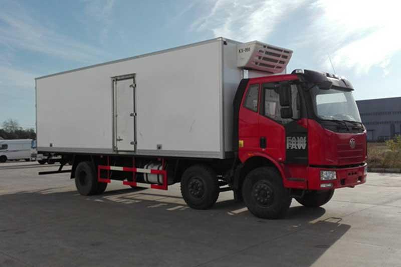 解放J6M_7.7米小三轴冷藏车 大型冷藏车 第3张