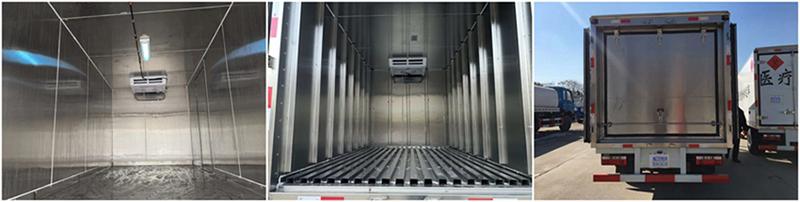 解放7.7米冷藏车 大型冷藏车 第6张