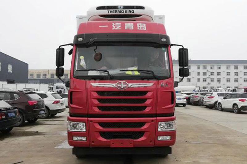 解放7.7米冷藏車 大型冷藏車 第2張