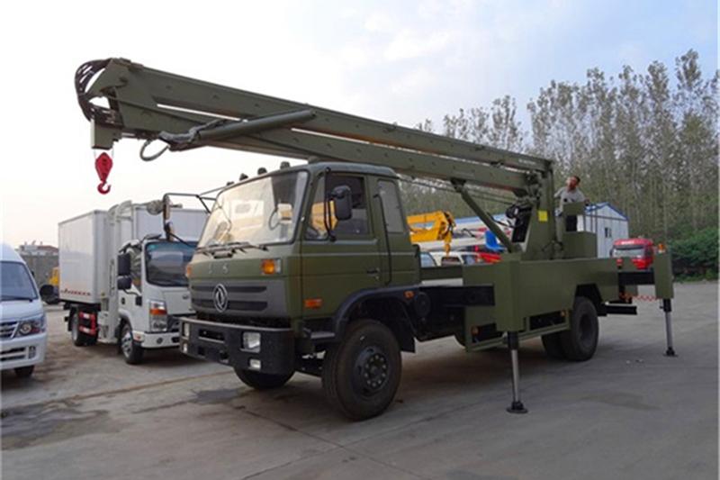 东风153型24米高空作业车 高空作业车 第1张